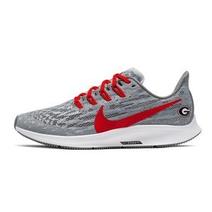 NEW Nike Air Zoom Pegasus 36 Georgia Bulldogs 10.5